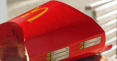 McDonalds french fry container