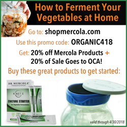 April advertisement for Mercola