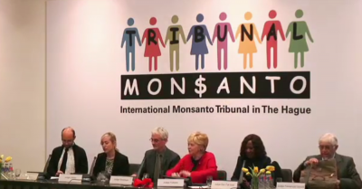 April 18 Monsanto Tribunal press conference