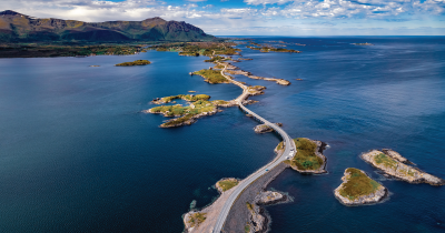Norway from above.