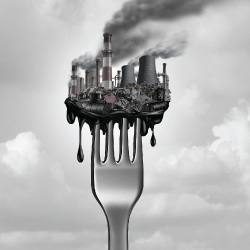 pollution on a fork