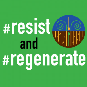 Resist and Regenerate logo