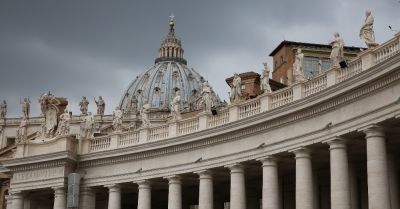 St Peters Basilica of the Vatican in Rome Italy
