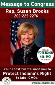 Rep. Susan Brooks from IN DARK Act Poster
