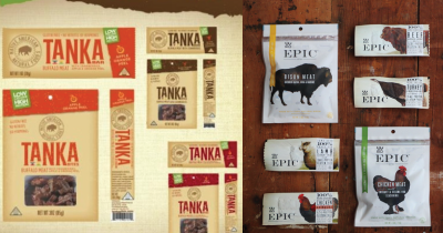 Tanka and Epic snacks.