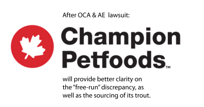 After lawsuit, Champion Petfoods with provide better clarity.