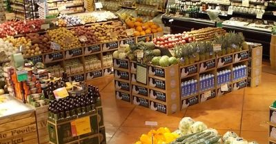 produce section of the Indianapolis Whole Foods Market