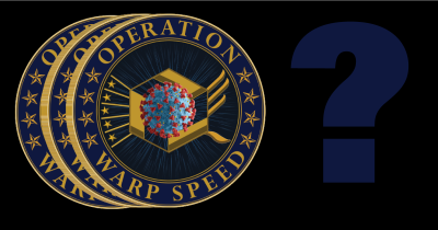 Operation Warp Speed emblem.